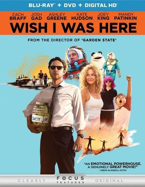 Wish I Was Here (Blu-ray + DVD + UltraViolet)