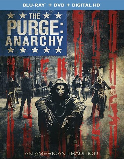 Purge, The: Anarchy (Blu-ray + DVD + UltraViolet)