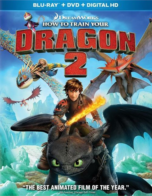 How To Train Your Dragon 2 (Blu-ray + DVD + UltraViolet)