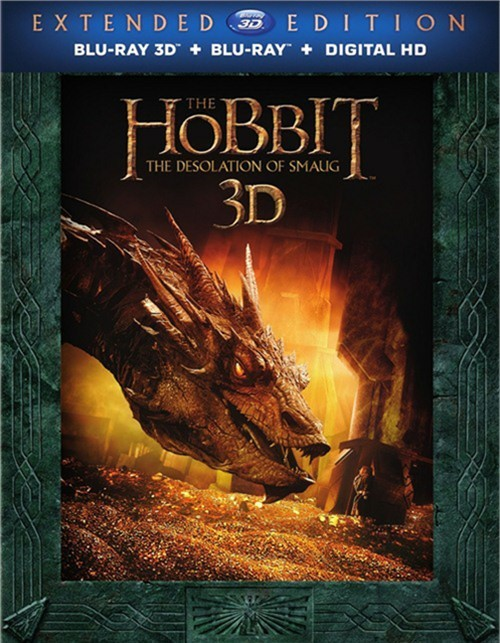 Hobbit, The: The Desolation Of Smaug - Extended Edition (Blu-ray 3D + Blu-ray + DVD + UltraViolet)