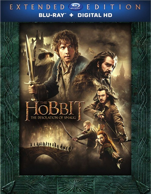 Hobbit, The: The Desolation Of Smaug - Extended Edition (Blu-ray + UltraViolet)