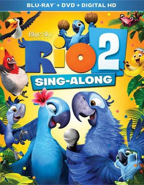 Rio 2 Sing-Along (Blu-ray + DVD + UltraViolet)