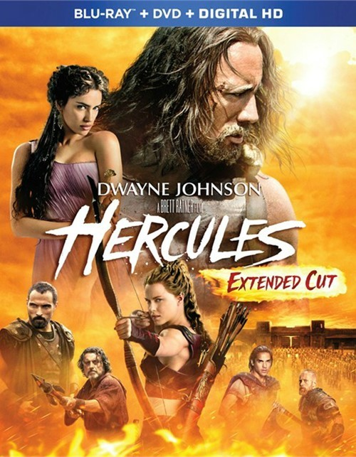 Hercules: Extended Cut (Blu-ray + DVD + UltraViolet)