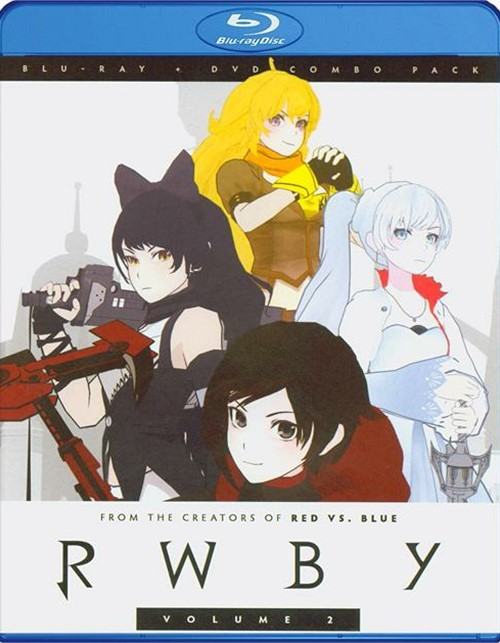 RWBY: Volume 2 (Blu-ray + DVD Combo)
