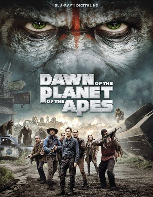 Dawn Of The Planet Of The Apes (Blu-ray + UltraViolet)