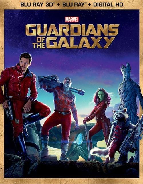 Guardians Of The Galaxy (Blu-ray 3D + Blu-ray + Digital HD)