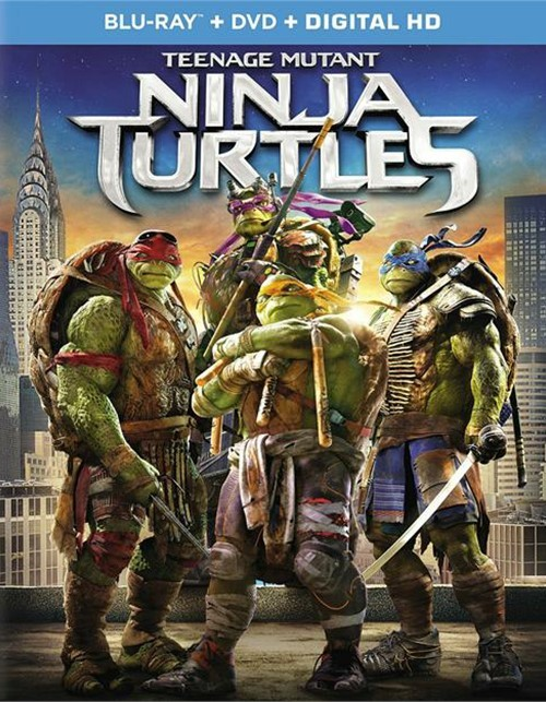 Teenage Mutant Ninja Turtles (Blu-ray + DVD + UltraViolet)