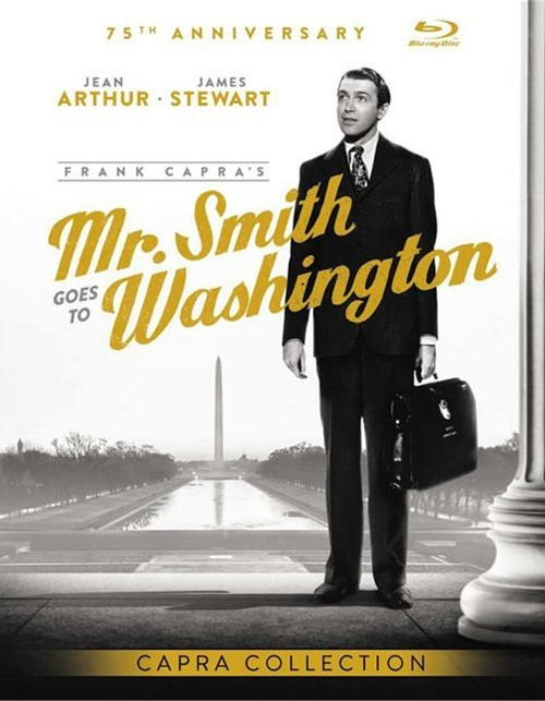 Mr. Smith Goes To Washington: 75th Anniversary Edition (Blu-ray + UltraViolet)
