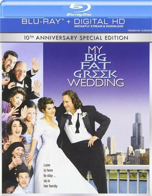 My Big Fat Greek Wedding (Blu-ray + UltraViolet)