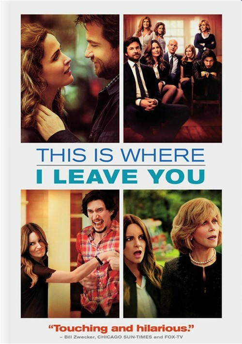 This Is Where I Leave You (DVD + UltraViolet)
