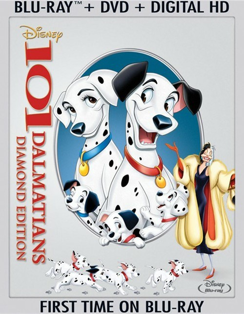 101 Dalmatians: Diamond Edition (Blu-ray + DVD + Digital HD)