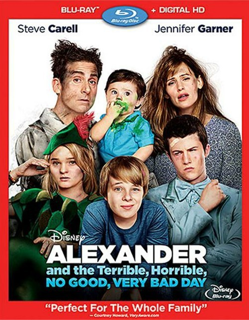 Alexander And The Terrible, Horrible, No Good, Very Bad Day (Blu-ray + Digital HD)
