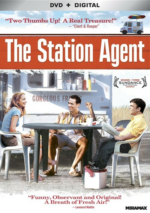 Station Agent, The (DVD + UltraViolet)