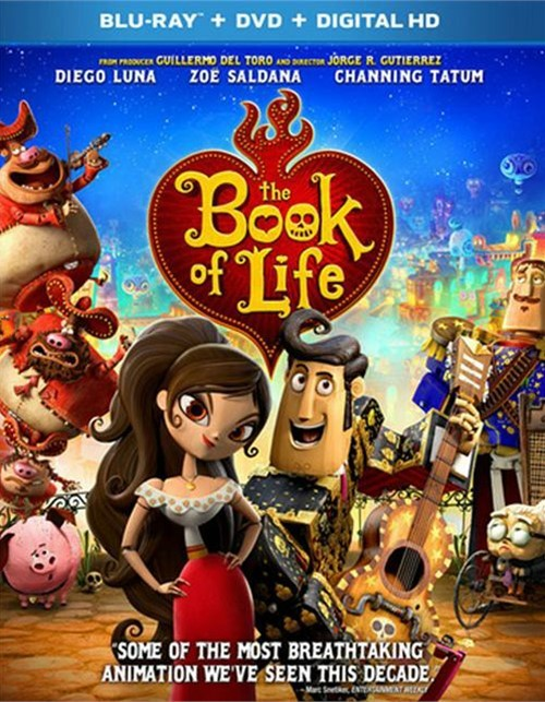 Book Of Life, The (Blu-ray + DVD + UltraViolet)