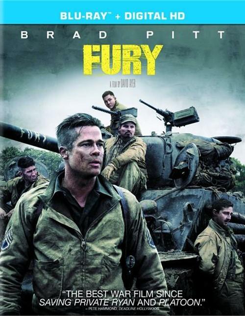 Fury (Blu-ray + UltraViolet)