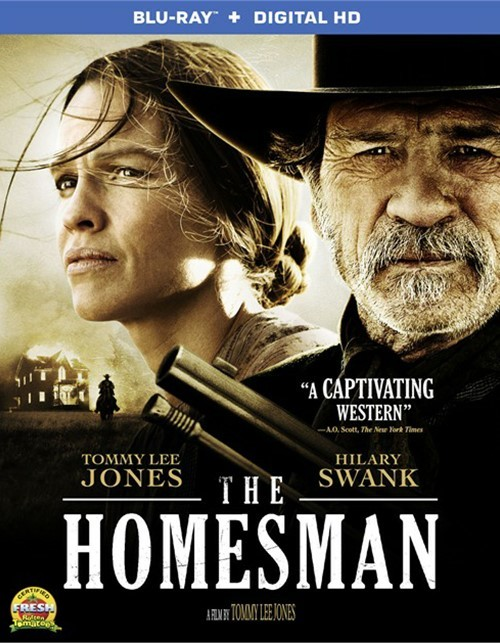 Homesman, The (Blu-ray + UltraViolet)