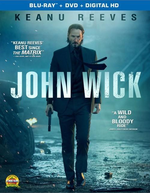 John Wick (Blu-ray + DVD + UltraViolet)