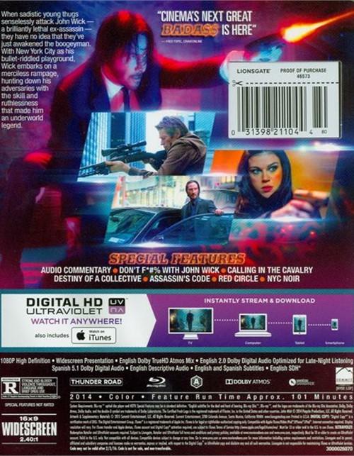 john wick blu ray dvd ultraviolet blu ray  dvd empire