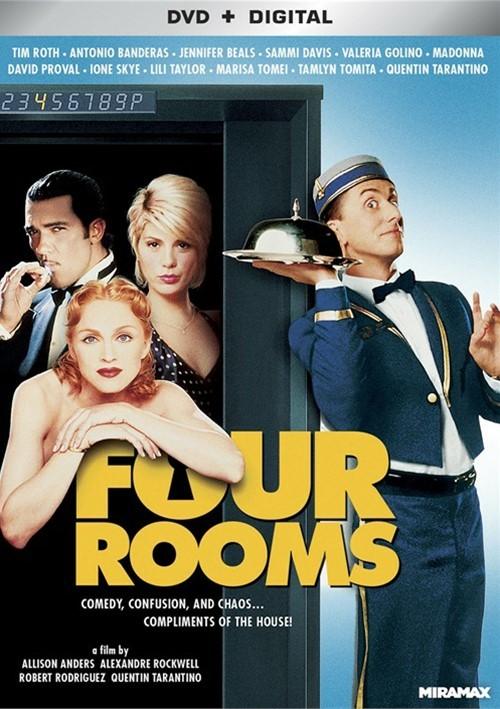 Four Rooms (DVD + UltraViolet)