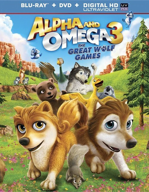 Alpha And Omega 3: The Great Wolf Games (Blu-ray + DVD + UltraViolet)