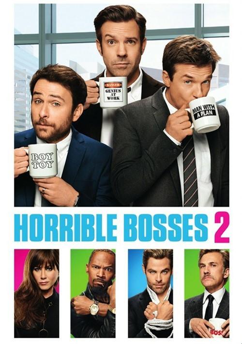 Horrible Bosses 2 (DVD + UltraViolet)