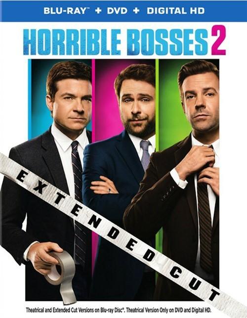 Horrible Bosses 2 (Blu-ray + DVD + UltraViolet)