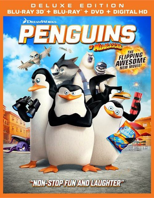 Penguins Of Madagascar (Blu-ray 3D + Blu-ray + DVD + UltraViolet)