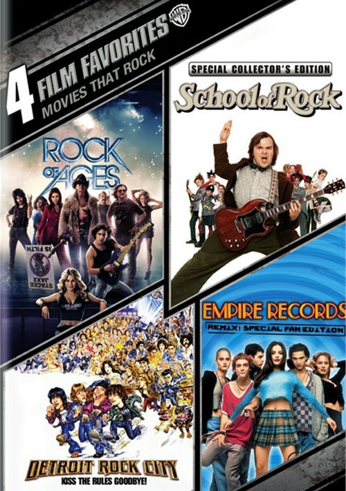 4 Film Favorites: Movies That Rock