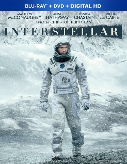 Interstellar (Blu-ray + DVD + UltraViolet)
