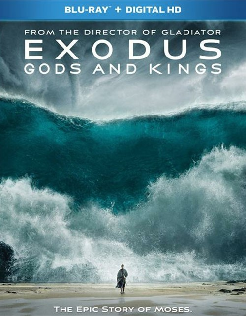 Exodus: Gods And Kings (Blu-ray + UltraViolet)