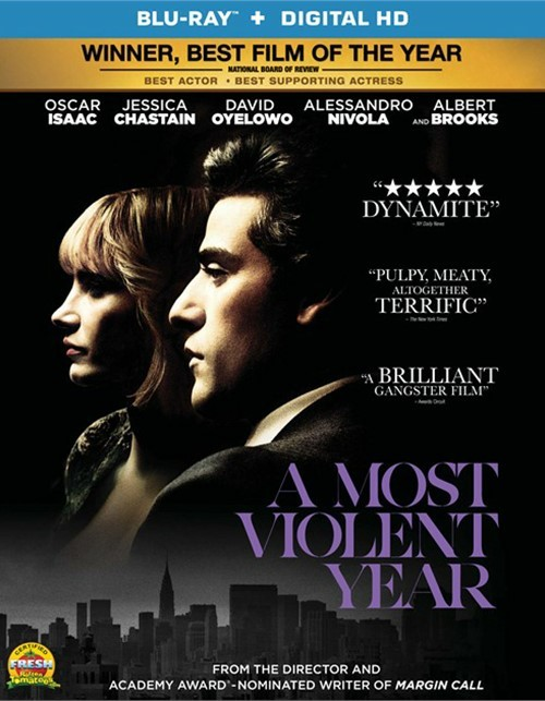 Most Violent Year, A (Blu-ray + UltraViolet)