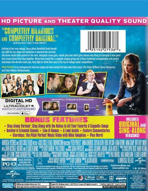 Pitch Perfect: Sing-Along Aca-Awesome Edition (DVD 2012