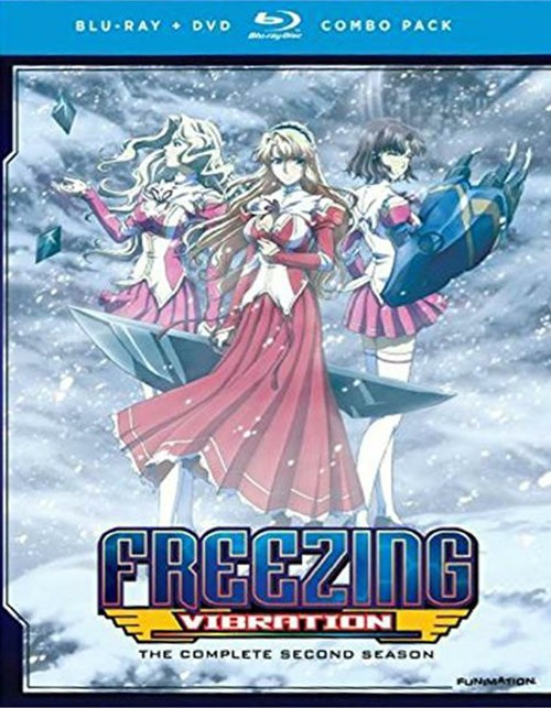 Freezing Vibration: Complete Series (Blu-ray + DVD)