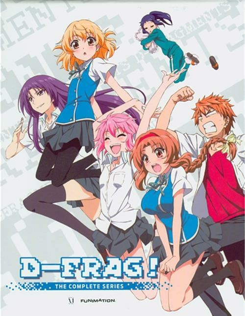 D-Frag!: Complete Series - Limited Edition (Blu-ray + DVD)