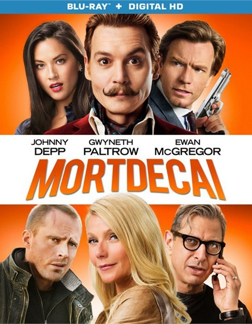 Mortdecai (Blu-ray + UltraViolet)