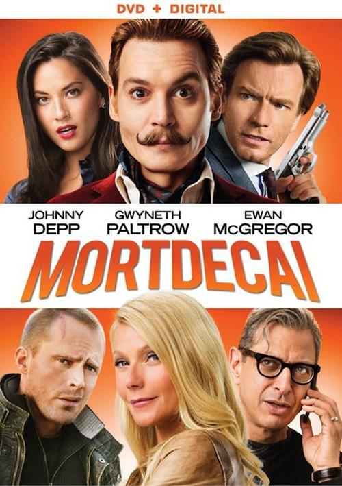 Mortdecai (DVD + UltraViolet)