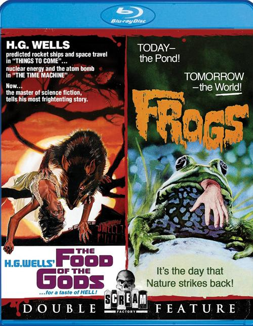 Food Of The Gods, The / Frogs (Double Feature)