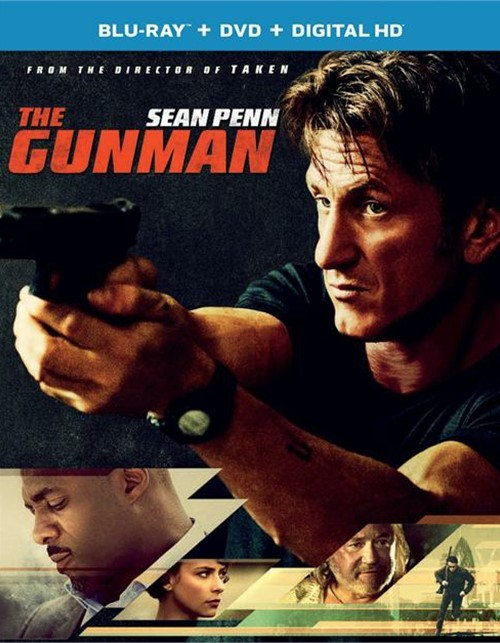 Gunman, The (Blu-ray + DVD + UltraViolet)