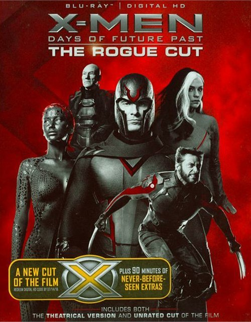 X-Men: Days Of Future Past - The Rogue Cut (Blu-ray + UltraViolet)
