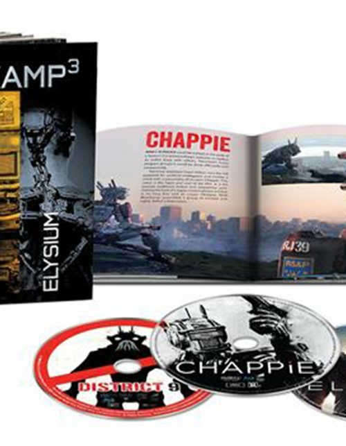Blomkamp 3: Limited Edition (Blu-ray + UltraViolet)