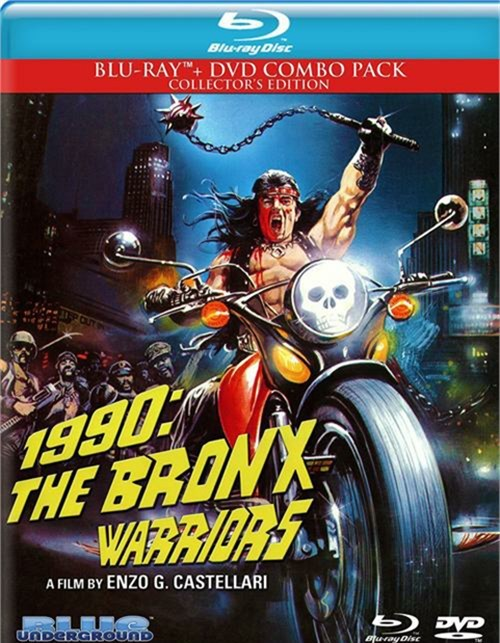 1990: The Bronx Warriors (Blu-ray + DVD)