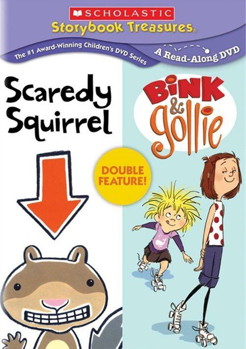 Scholastic Storybook Treasures: Scaredy Squirrel / Bink & Gollie  (Double Feature)