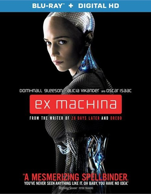 Ex Machina (Blu-ray + UltraViolet)
