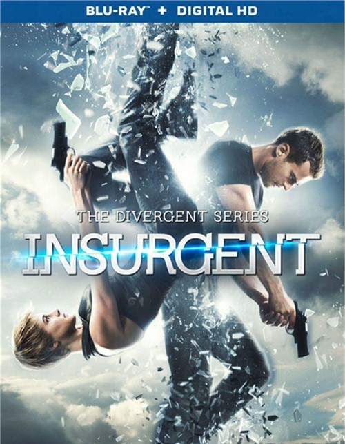 Divergent Series, The: Insurgent (Blu-ray + UltraViolet)