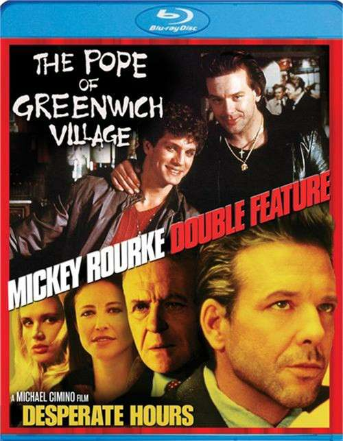 Mickey Rourke Double Feature: The Pope Of Greenwich Village / Desperate Hours