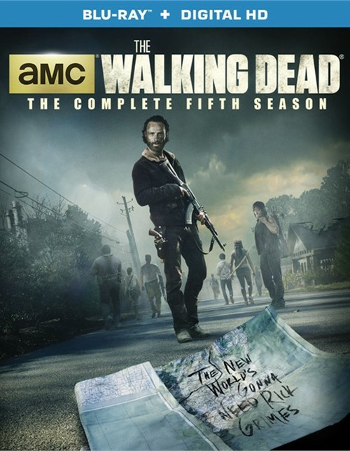 Walking Dead, The: The Complete Fifth Season (Blu-ray + UltraViolet)