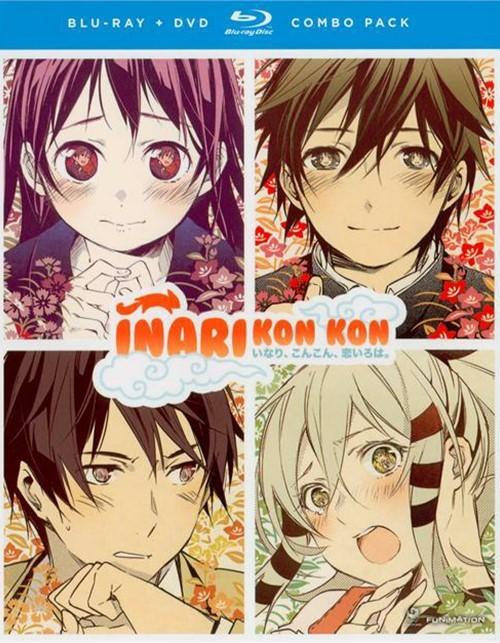 Inari, Kon Kon, Koi Iroha: The Complete Series + OVA (Blu-ray + DVD Combo)