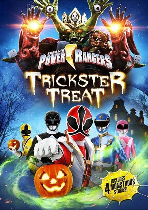 Power Rangers: Trickster Treat (DVD + UltraViolet)
