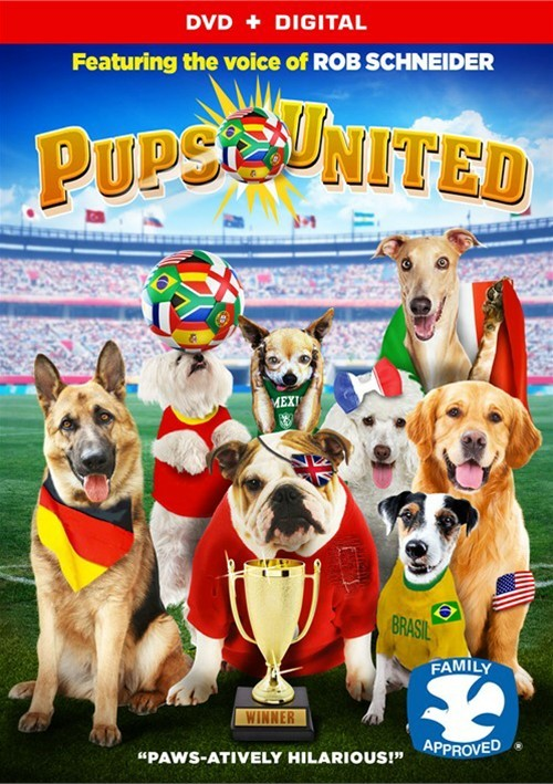 Pups United (DVD + UltraViolet)