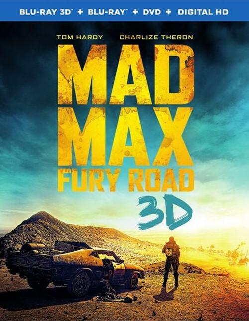 Mad Max: Fury Road (Blu-ray 3D + Blu-ray + DVD + UltraViolet)